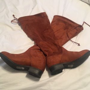 Torrid Chesnut Over-the-Knee boots Size 9.5